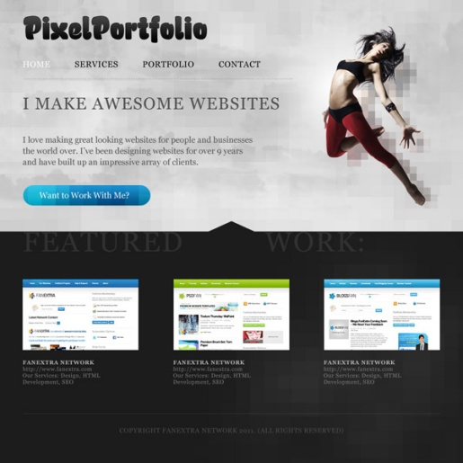 Photoshop Tutorials for Website Layouts II